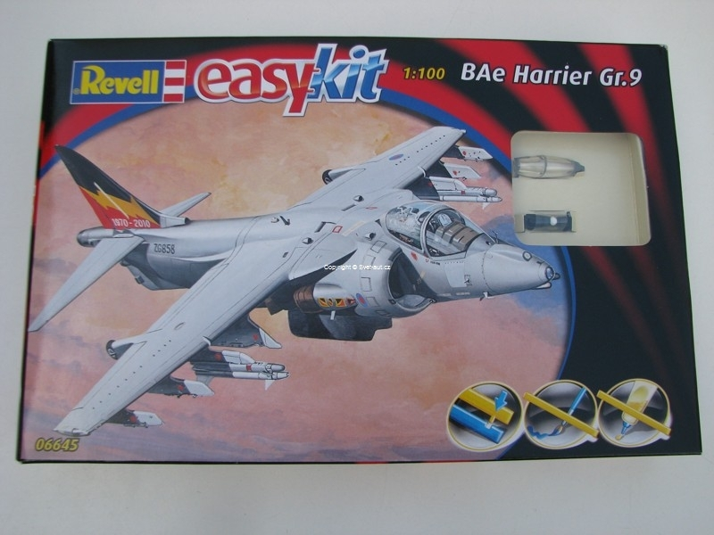 BAe Harrier Gr.9 1:100 Easy Kit Revell